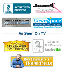 We are a Better Business Bureau Accredited Business. We are a Basement Systems & Foundation Supportworks Authorized Dealer.
