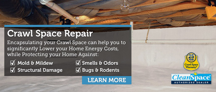 Crawl Space Encapsulation & Repair in Central & Western Massachusetts