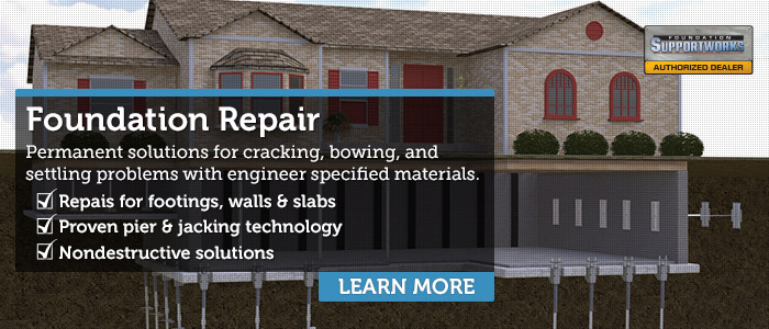 Foundation Repair Company in Central & Western Massachusetts